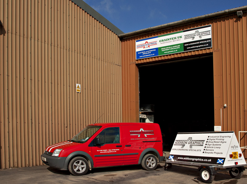Addison Graphics for sign systems and vehicle sign writing