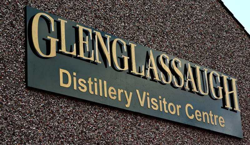 3D Glenglassaugh Distillery sign made by Addison Graphics