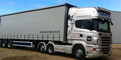 HGV heavy goods vehicle sign writing
